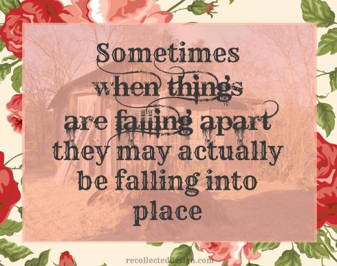 falling aprat