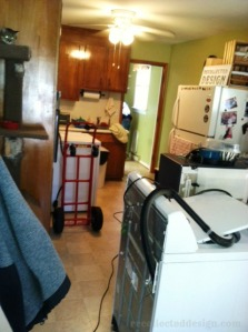 ...doesn't everyone keep their washer in their kitchen....??