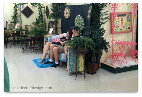 hobby lobby settee kids