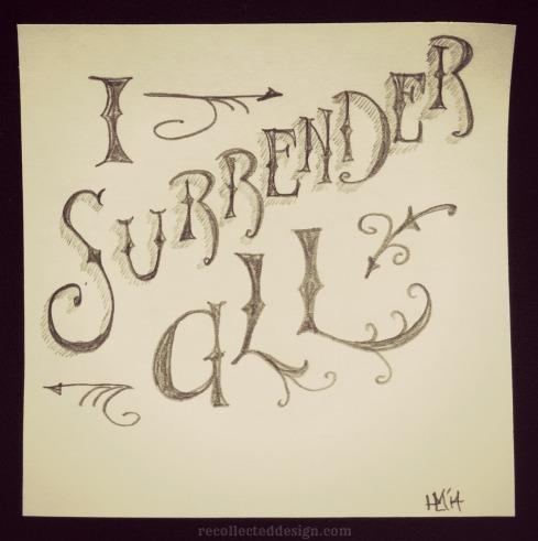 i surrender all wm