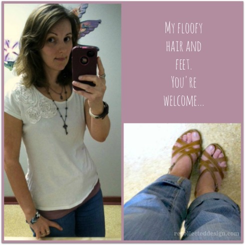 feet and floofy collage