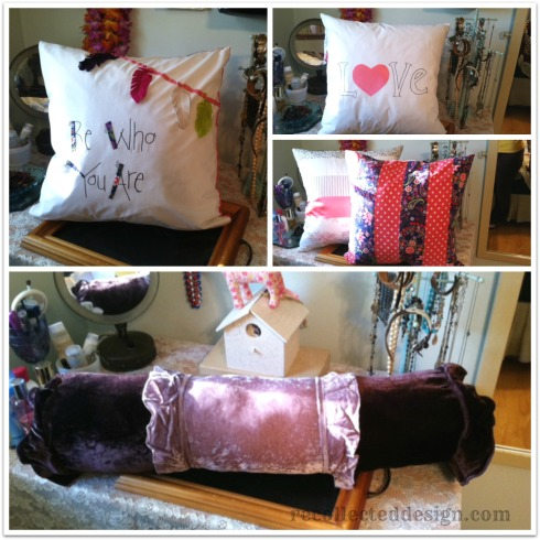 pillow collage