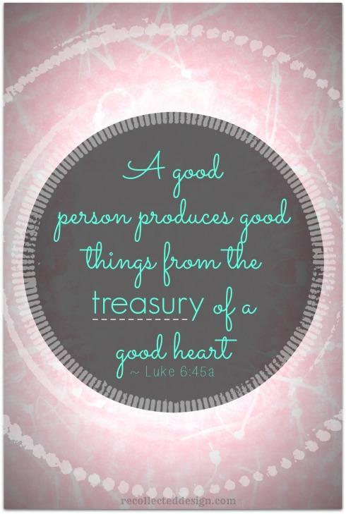 treasury of a good heart