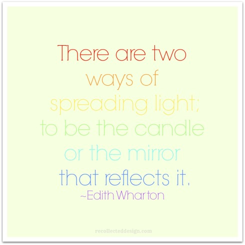 two ways to be light