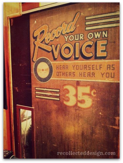 record store machine