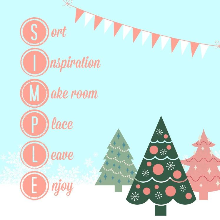 simple christmas decorating