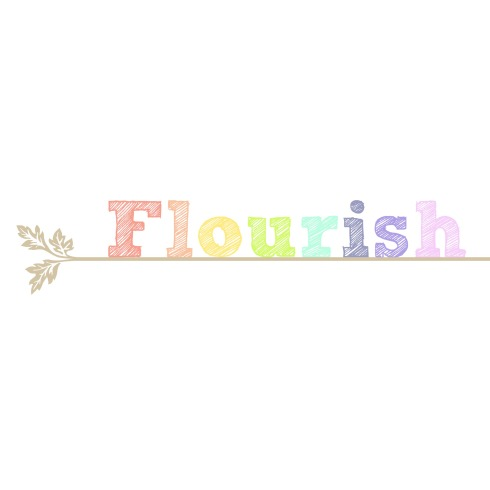flourish-white