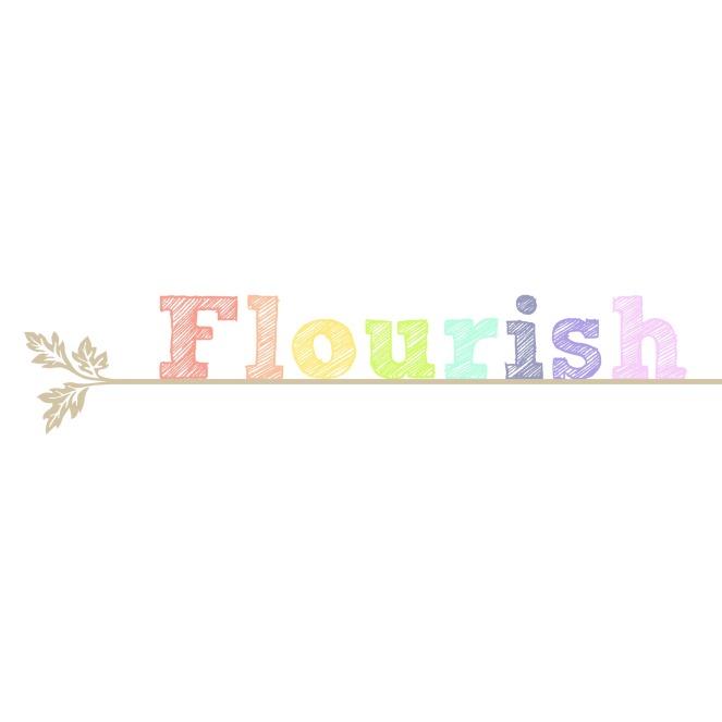 flourish-white